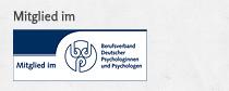 Mitglied im Berufsverband Deutschwer Psychologinnen und Psychologen
